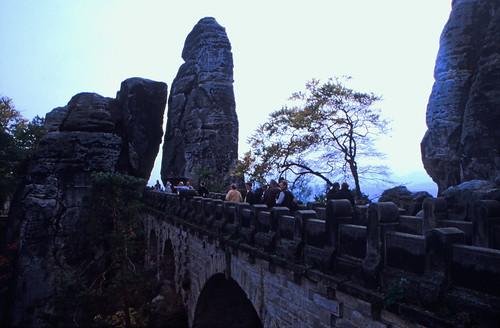 """Elbsandsteingebirge (021) Basteibrücke • <a style=""""font-size:0.8em;"""" href=""""http://www.flickr.com/photos/69570948@N04/21866854221/"""" target=""""_blank"""">View on Flickr</a>"""