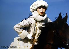 映画『氷の花火 山口小夜子』より ©KAZOU OHISHI