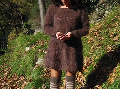 abito mohair (stranelane1) Tags: lana wool tricot knitting dress knit mohair knitted abito maglia