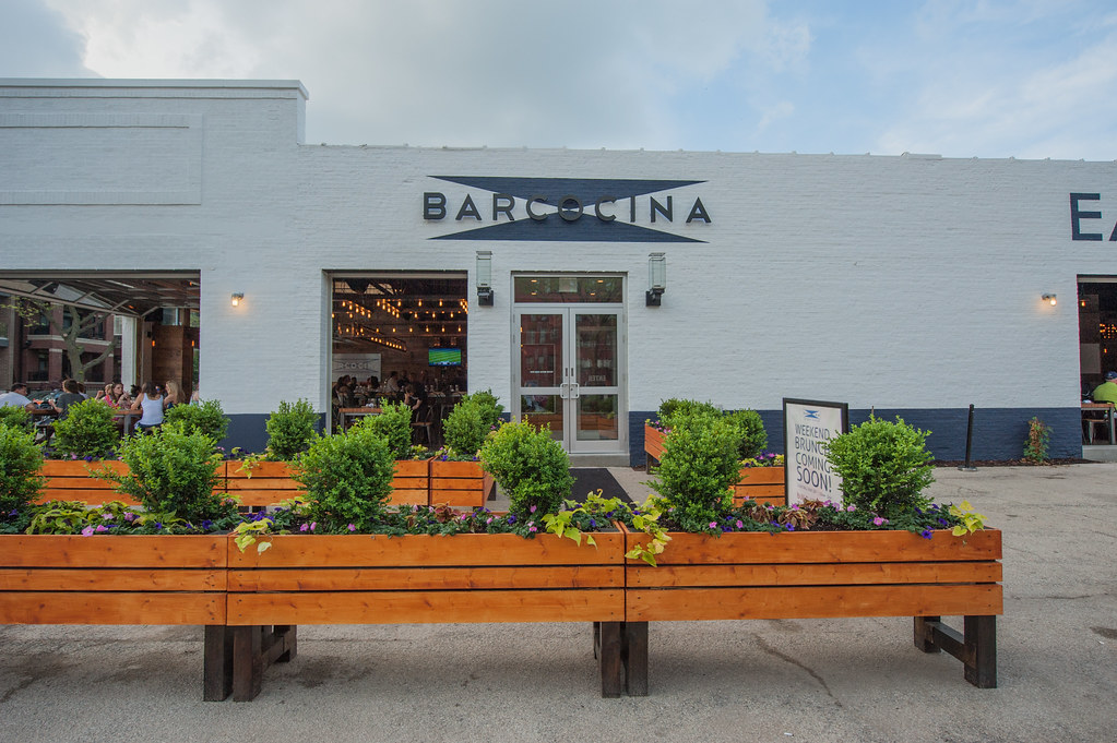 A photo shoot for Barcocina restaurant in Chicago's Lincoln Park neighborhood.