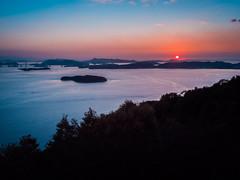 PhoTones Works #7270 (TAKUMA KIMURA) Tags: ocean bridge sea nature japan landscape island scenery  inland    okayama kimura kurashiki ohashi kojima  seto   takuma     tamano     photones