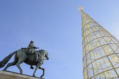 Puerta del Sol (Lord Kuernyus) Tags: madrid espaa navidad otoo