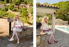 Sitting in the shadow. (sabine57) Tags: stockings hat drag tv pumps highheels dress cd crossdressing tgirl transgender purse tranny transvestite handbag crossdresser crossdress nylons travestie transvestism