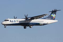 AZUL Linhas Areas Brasileiras ATR 72-600 (72-212A) F-WWEM (PR-AKE) (Quentin Bonnet - AeroWorldPictures) Tags: test linhas azul canon is airport flight 5d series usm toulouse ef blagnac 100400mm brasileiras atr mkiii mk3 areas 100400l 100400 toulouseblagnac f4556l 72212a prake fwwem 72600