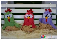 GP 05 (Malveira Decoraes) Tags: galinha festa 1ano provenal decoraao pintadinha galinhapintadinha