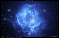 The Rosette Nebula (gucic) Tags: stars pentax space serbia galaxy nebula astronomy ha belgrade universe rosette beograd cosmos srbija cooled monoceros luiscampos canon450d vozdovac qhy5 neq6 caldwell49 debayered |milkyway|