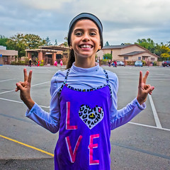 LOVE (Kevin MG) Tags: usa ca losangeles northridge school love girl kid child adolescent cute pretty athletic little young youth