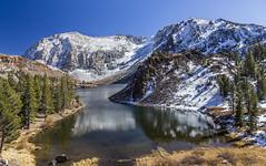 Afternoon at Ellery Lake (Fred Moore 1947) Tags: california easternsierra ellerylake snow tiogapass landscape mountains leevining unitedstates us explore