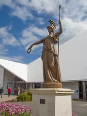 404 - Statue du musée d'Invercargill