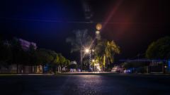 My quiet little town (Ruby MV) Tags: nite nigth night city streets longexposure
