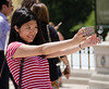 (Jim Frazier) Tags: 5000people 2016 20160618chicagolooptrip millenniumpark bean chicago cloudgate downtown il illinois jimfraziercom june loop millennium park people selfies selfiesatthebean summer urban q3