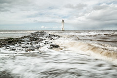 Force of nature (Paul-Farrell) Tags: lighthouse newbrighton wirral merseyside movement rivermersey longexposure waves nature perchrock
