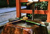 Pouring water (Davide C.77) Tags: asia japan giappone water shrine kyoto