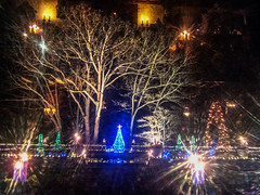 light_the_night (gerhil) Tags: travel landscape christmas decorations lights outdoor holiday scenic night museum historic home estate autumn december2016 nikcolorefexpro4 1001nights 1001nightsmagiccity