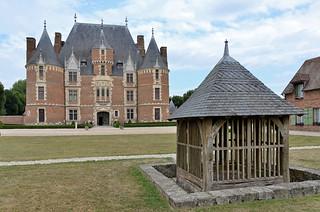 Château de Martainville (Seine-Maritime) - Musée des traditions et arts normands (explore 22-12-16)