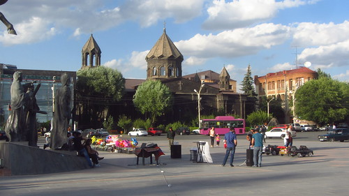 Vartanants Square in Gyumri
