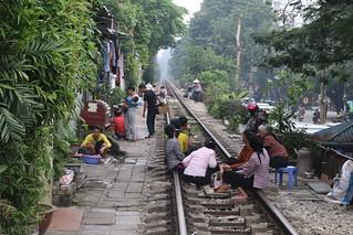 Hanoi Train Track