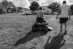 """Side By Side"" (So Fluid) Tags: basic fundamentals portrait portraiture portraitphotography blackandwhite bw blackandwhitephotography sky clouds landscape shadow driving lawn sofluid shadows shape canon canonrebel t5i sigma learning lesson"