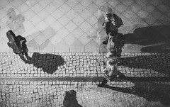 From above (mripp) Tags: art kunst black white mono monochrom berlin city urban stadt people shadow shadows ghost ghostly geyser geisterhaft unschienbar unklar unclear sony alpha 7rii leis 50mm summicron