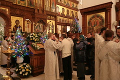 090. Nativity of the Lord at Lavra / Рождество Христово в Лавре 07.01.2017