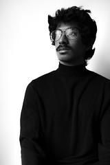 blackwhite... (Damien Manspeaker) Tags: black white portrait contrast lighting light 85mm 18