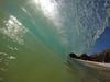 afternoon barrel (bluewavechris) Tags: maui hawaii makena oneloa ocean water sea swell surf wave barrel tube lip shorebreak beach gopro knekt trigger playtime