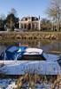 Zuidwolde Gn (Jeroen Hillenga) Tags: zuidwolde groningen boterdiep sneeuw bootje winter netherlands