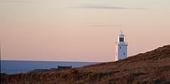 DSC_3389CV (mike193823319483) Tags: ocean sea lighthouse godrevy sunset cornwall