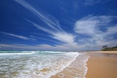 Lake Cathie Beach 1 (Paul Hollins (offline - on holidays)) Tags: aus australia jollynose lakecathie newsouthwales seascape nikond750 portmacquarie