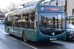 331 @ Nottingham Broadmarsh (ianjpoole) Tags: trent barton optare tempo x1200 sr yj12gwm 331 working route i4 nottingham broadmarsh stapleford sandicare then derby