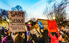 2017.02.22 ProtectTransKids Protest, Washington, DC USA 01095