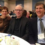 CAS Affiliates Dr. Carol Spindel, Dr. Thomas Bassett and Dr. Alex Winter-Nelson at the International Program and Services banquet, 2014.