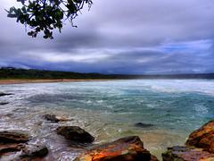 sml-fhdr-DSCN0160 (elphweb) Tags: roughseas roughsea ocean nsw australia sea water waves breakers storm coast coastal falsehdr fhdr bigwaves bigsurf surf foam mist