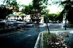 standing:at:the:corner:watching:life:go:by (monkey_pushover_tree) Tags: city longexposure urban blur canon buildings 350d cityscape oz roundabout sydney gimp australia 123 daytime ghosts multiexposure kirribilli 10minutes standingatthecornerwatchinglifegoby