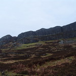 The lava flows of the Sgurr of Eigg thumbnail