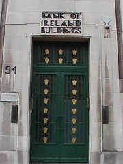 Doorway, Bank of Ireland Buildings, Belfast