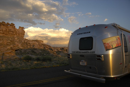 Sunset and Airstream