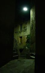 Corte - Corsica (sgrazied) Tags: corsica corte notte silence vicolo silenzio buio alley calm quiet korsica artlibre interphoto aplusphoto