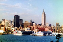 Empire State Building: View from Hoboken's Castle Point