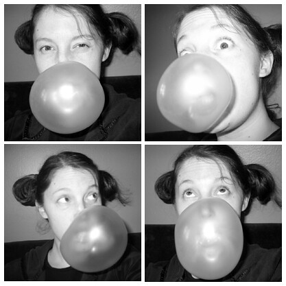 Bubbles - Self-Portrait