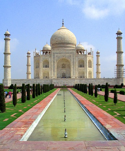 The Taj Mahal, a monument to love