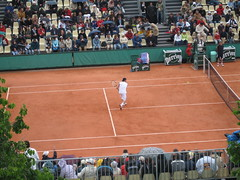 Robby Ginepri at the French Open (aloha_pineapple) Tags: paris france tennis rolandgarros grandslam frenchopen frenchopen2006