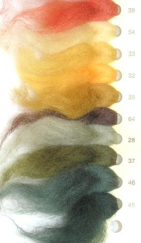 amostra lã