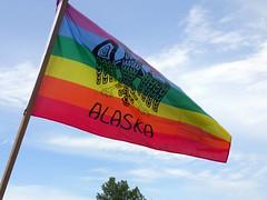 Alaska Pride flag (design by Steve)