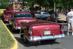 100_0233  Chevy and matching trailer (philethier) Tags: fifties trailer backtothe50s backtothefifties