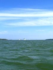 horizon (simo-otto) Tags: sea summer suomi finland helsinki horizon casio meri kes opoz