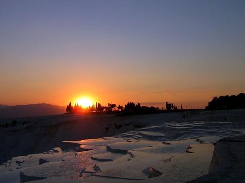 Pamukkale Sunset III
