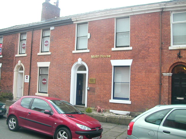 Blackburn Buddhist Centre from the street