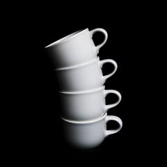Tea Rex (fd) Tags: bw stilllife fossil vertebra tea cups themecompetition lightproofboxcom utatastilllife tccomp208