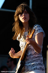 Fiery Furnaces (formulaphoto) Tags: music dog toronto ontario canada hot rock concert day afternoon indie fieryfurnaces indiegirl exclaim rockchick eleanorfriedberger dogdayafternoon dogday oldfortyork